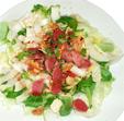 Salade aux gésiers de canard