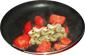 faire revenir les asperges et tomates