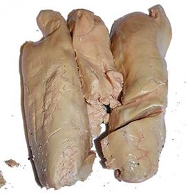 Préparation foie gras