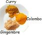 curry et épices