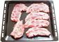 poser les côtes de porc