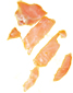 couper le saumon