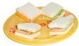mini sandwichs au jambon