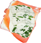 fromage et fines herbes