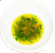 Sauce vinaigrette au citron et fines herbes