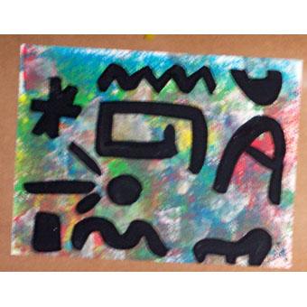 Peindre un tableau à la manière de Joan Miro