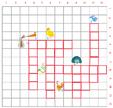 Imprimer la grille de mots croisés animaux grille 4 pour cycle 2
