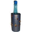 décoration de bouteille étoilée