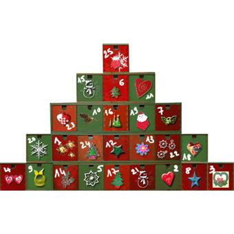 calendrier de l'Avent pyramide