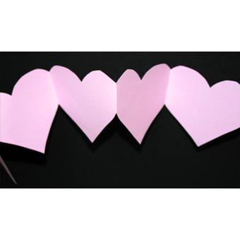 Guirlande De Coeurs Bricolage Saint Valentin Tete A Modeler