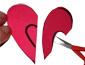 évider le centre du coeur