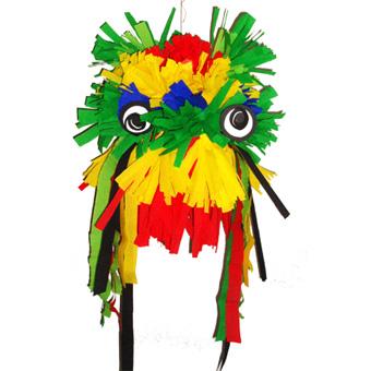 Masque tête de dragon chinois