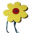 Rond de serviette grosse fleur