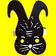 Masque de lapin jungle urbaine