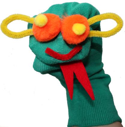 Fabriquer une marionnette aux gros yeux pour b b - Fabriquer une marionnette articulee ...