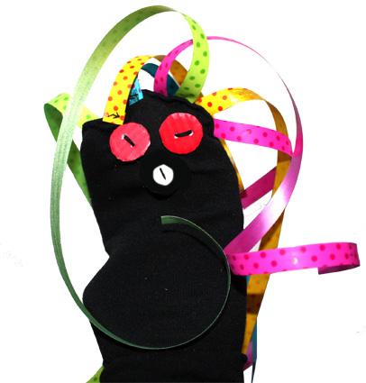 Souvent Marionnette chaussette pour bébé - Tête à modeler UQ92