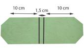 tracer les ligne de pliage de la couverture