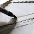 4 bandes de papier