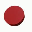 boite recouverte de canson rouge