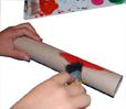peindre le rouleau papier