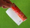 coller le papier autour du tube
