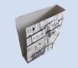 boite recouverte de papier