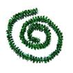fil métallisé chenillé enroulé en spirale