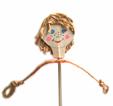 tête et bras de la marionnette