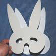 coller le masque papier sur le masque carton