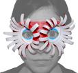 masque aux grands yeux