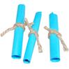 attacher les rouleau de papier avec un fil