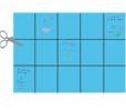découper les rectangles de papier