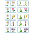 Dominos fleurs planche 10