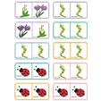 Dominos fleurs planche 17