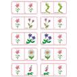 Dominos fleurs planche 2