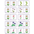 Dominos fleurs planche 4