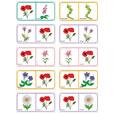 Dominos fleurs planche 7