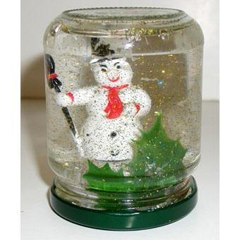 Boule de neige noel tete a modeler - Comment faire des boules de noel ...