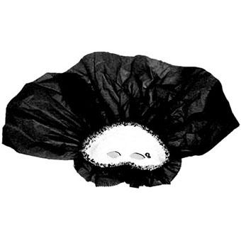 Masque de Venise à voile noir