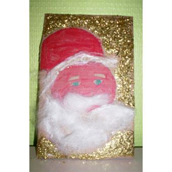 Carte Père de Noël d'Erwan