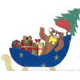 ours de Noël