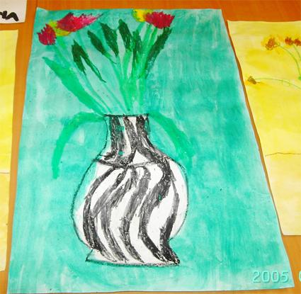 Tulipes à la Matisse