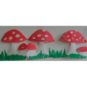 Frise de champignons