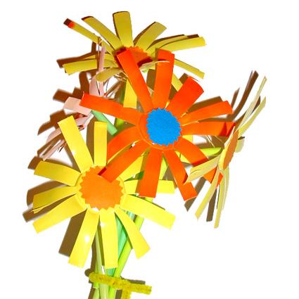 Fleurs inspirées des fleurs de Picasso