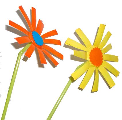 fleurs comme Picasso