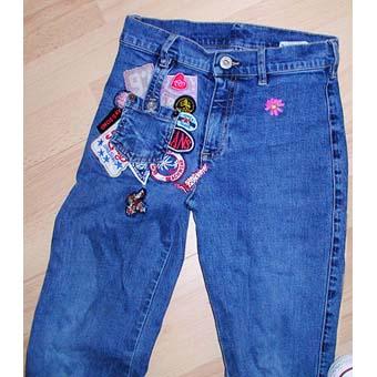 customiser un vieux jean comment customiser son jean activit de couture. Black Bedroom Furniture Sets. Home Design Ideas