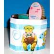 Décorer des boîte de rangement pour les affaires de bébé