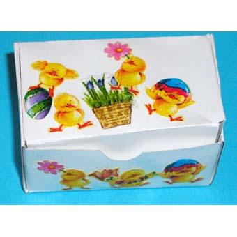 Boîte poussin pour Pâques