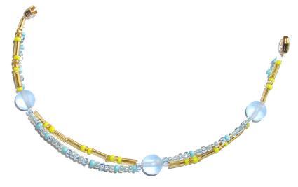 Bracelet en perles double rang