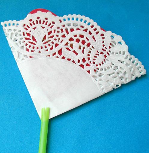 faire la fleur dentelle